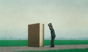 """The Salutation"" by Quint Buchholz (1990)"